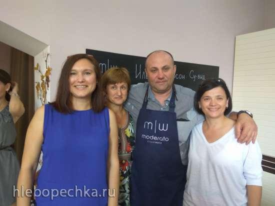 Мастер-класс от Steba / Caso в Екатеринбурге (26 августа 2017 г.)