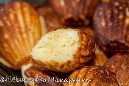 Печенье творожное мадлен в печеннице Мадлен от Princess