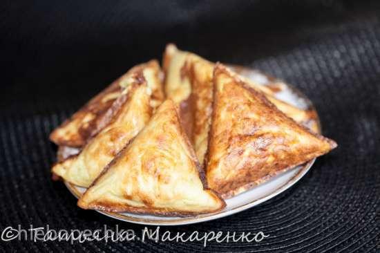 Кабачковые треугольники (Samboussa maker от Princess)