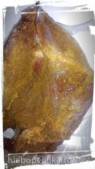 Говядина после аутолиза (ферментированная) запечёная