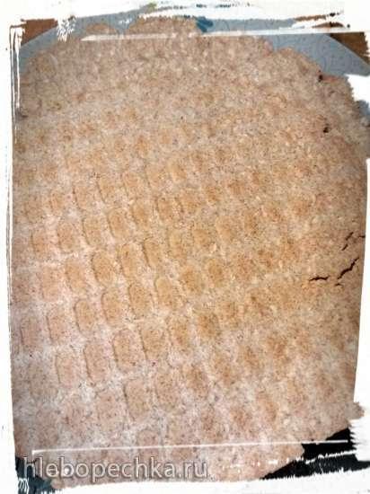 Ржаные криспы, хлебцы или некошерная маца