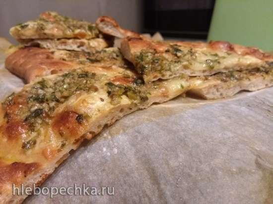 Пицца с анчоусным маслом