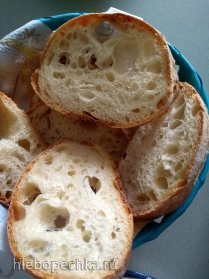 Чиабатта (Chiabatta) в духовке