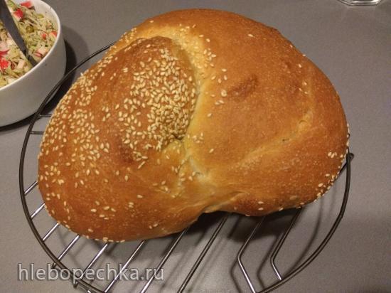 Пшеничный хлеб из муки 1-ого сорта