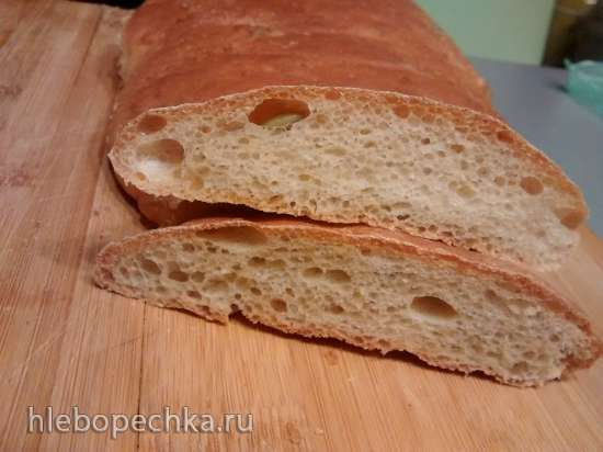 Хлеб с овсяными хлопьями, отрубями, кунжутом и семечками