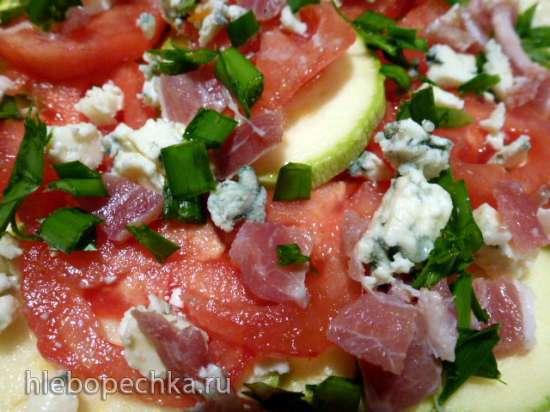 Torta salata (соленый как бы пирожок на огуречном тесте)