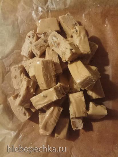 Помадка (Пенуче) с грецкими орехами