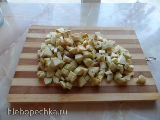 Салат из баклажанов с яйцом и майонезом