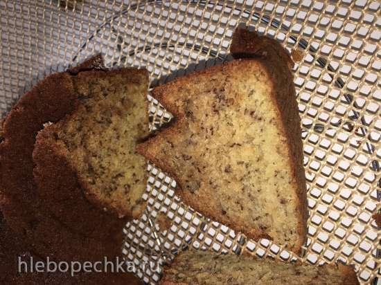 Кекс банановый (Classic banana bundt cake)
