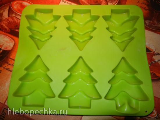 Польский рождественский пирог-пряник