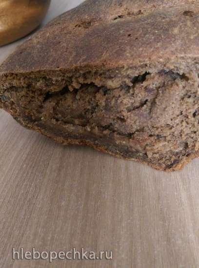 Хлеб «Деревенский заварной» на закваске