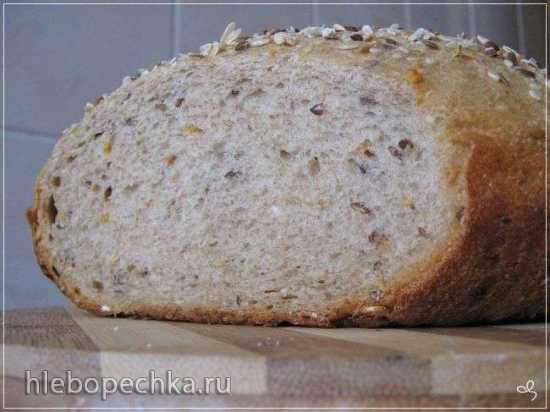 Хлеб пшенично-ржаной в мультиварке