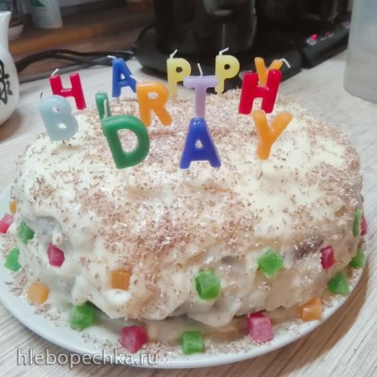 Подскажите наливной торт с тонкими коржами