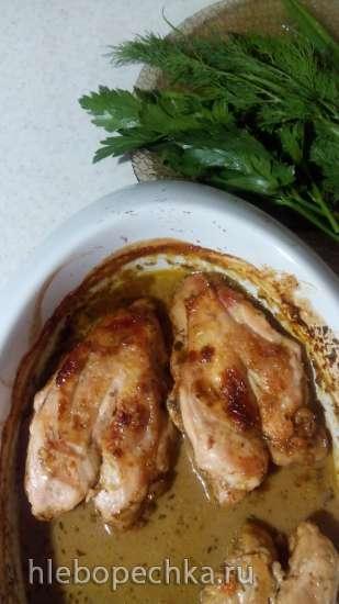 Курица с золотистой корочкой под пряным соусом Джек (по рецепту Джейми Оливера)