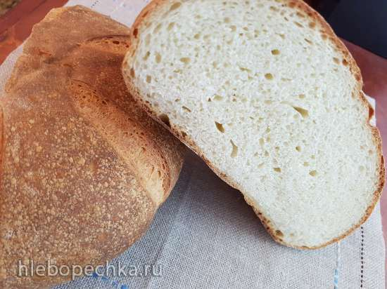 Пшеничный хлеб на каждый день<br>основной (базовый рецепт Р. Бертине)