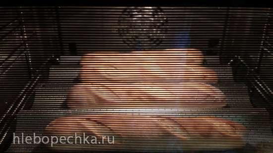 Багеты на жидких дрожжах