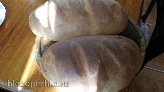 Батон как магазинный на кефире (хлебопечка и мини-печь Steba KB-23 eco)