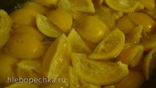 Лимоны вяленые, домашнего приготовления