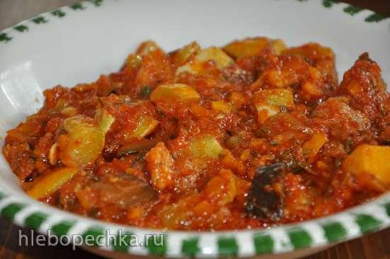 Овощное рагу (Multicuisine DeLonghi)
