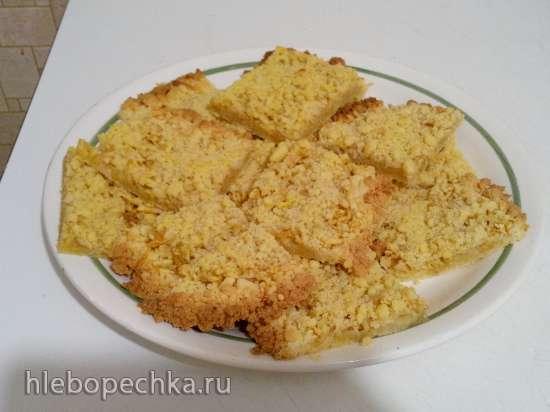 Песочный пирог с яблоками «Крошка Желток»
