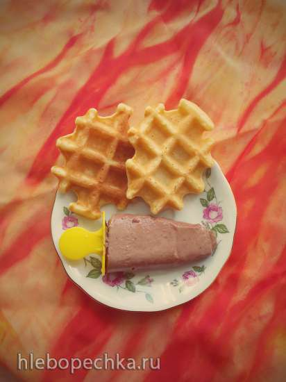 Шоколадное мороженое Крем пралине