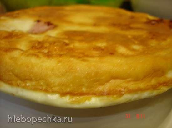 Омлет с сосисками и сыром (скороварка Polaris 0305)