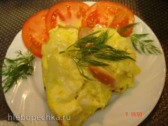Пёстрая запеканка Сытный завтрак  (скороварка Polaris 0305)