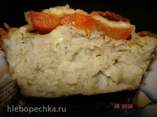 Праздничные рыбные маффины в духовке, аэрогриле, скороварке или мультиварке