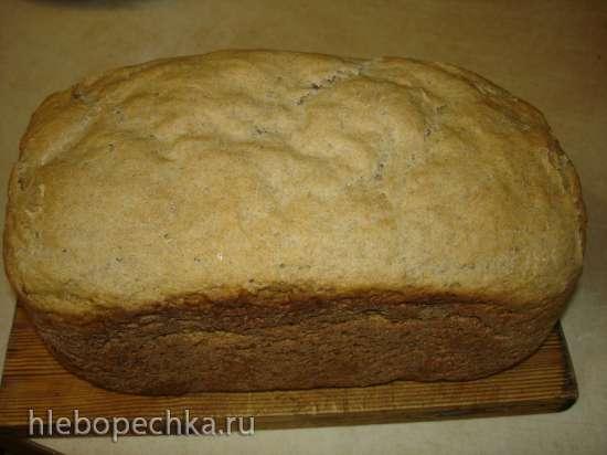 Ржано-пшеничный дрожжевой хлеб по мотивам Российского (хлебопечка Polaris PBM 1501D)
