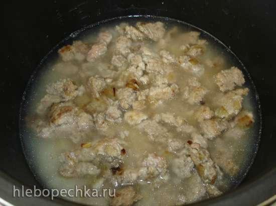 Наиленивейшие голубцы или капуста с фаршем и рисом в скороварке (Polaris 0305)