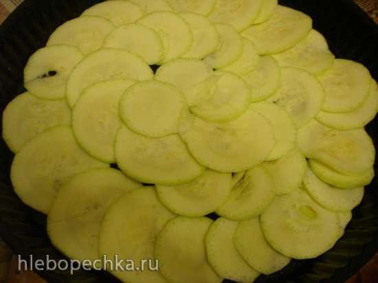 Кабачково-картофельная запеканка с мясом Семейный ужин