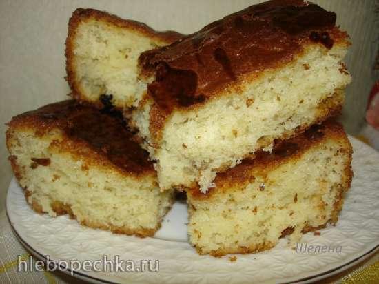 Пирог «Стаканчик» (в духовке или мультиварке)