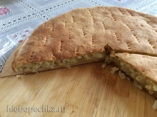 Пирог с капустой по-советски (+видео)