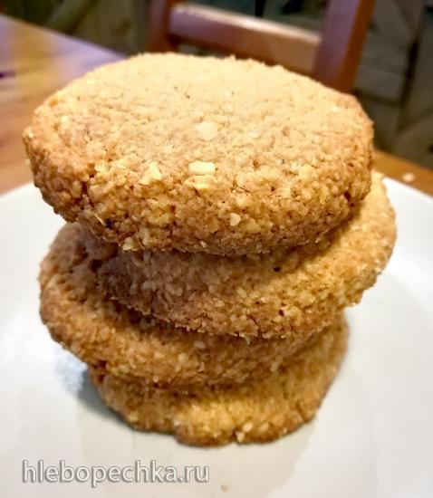 Овсяное печенье (без муки)