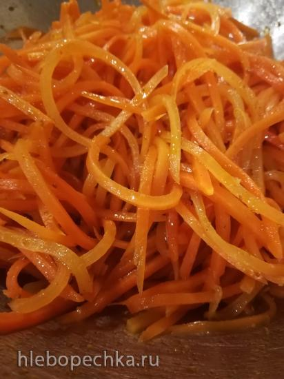 Морковча из бланшированной моркови