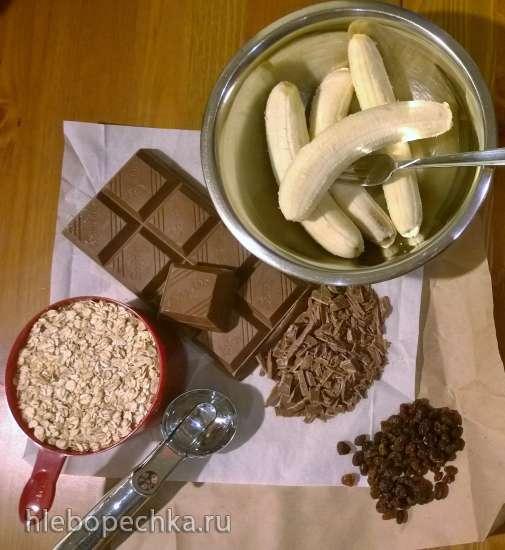 Печенье из хлопьев 2-компонентное