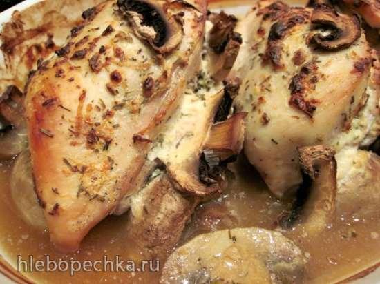 Куриные грудки с ароматной начинкой