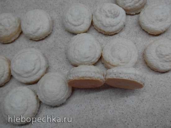 Макаронс - печенье миндальное (Les macarons)