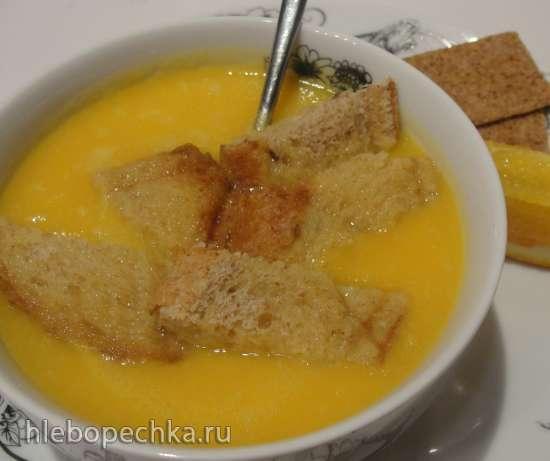 Тыквенный суп-пюре с апельсинами
