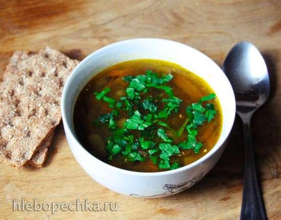 Суп овощной чечевичный пряный (мультиварка Brand 701)