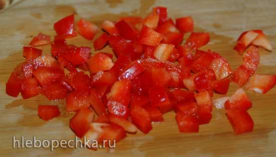 Омлет с овощами (мультиварка Cuckoo 1055)