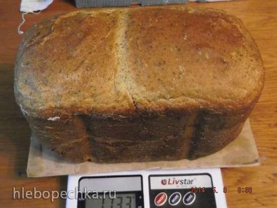 Зеленый хлеб с крапивой