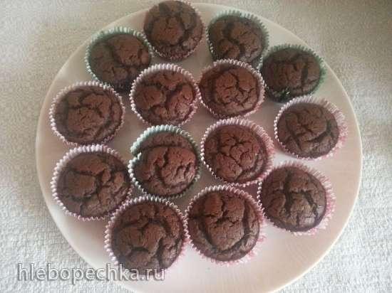 Маффины шоколадные заварные