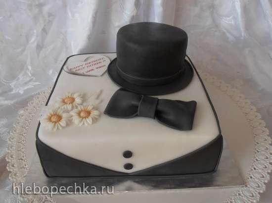 Торты, украшенные мастикой и марципаном (5)