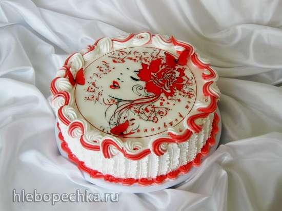 вафельные картинки на торт отзывы