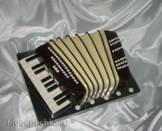 торт аккордеон фото