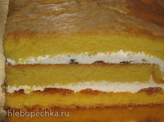 Апельсиновый джем для прослойки торта