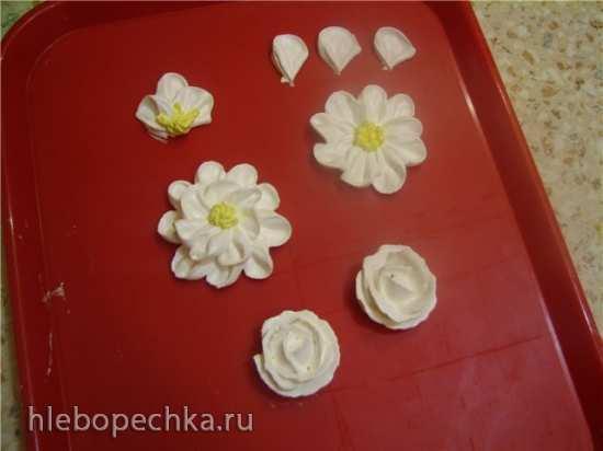 "Насадки кондитерские ""Лепесток, роза, петля"" (petal tips) и работа с ними"