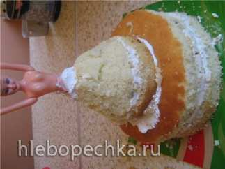 "Торт ""Барби"" (мастер-класс)"