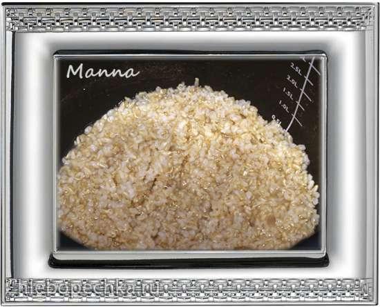 Каша пряная из пророщенного риса с молоком (мультиварка Philips HD3197)